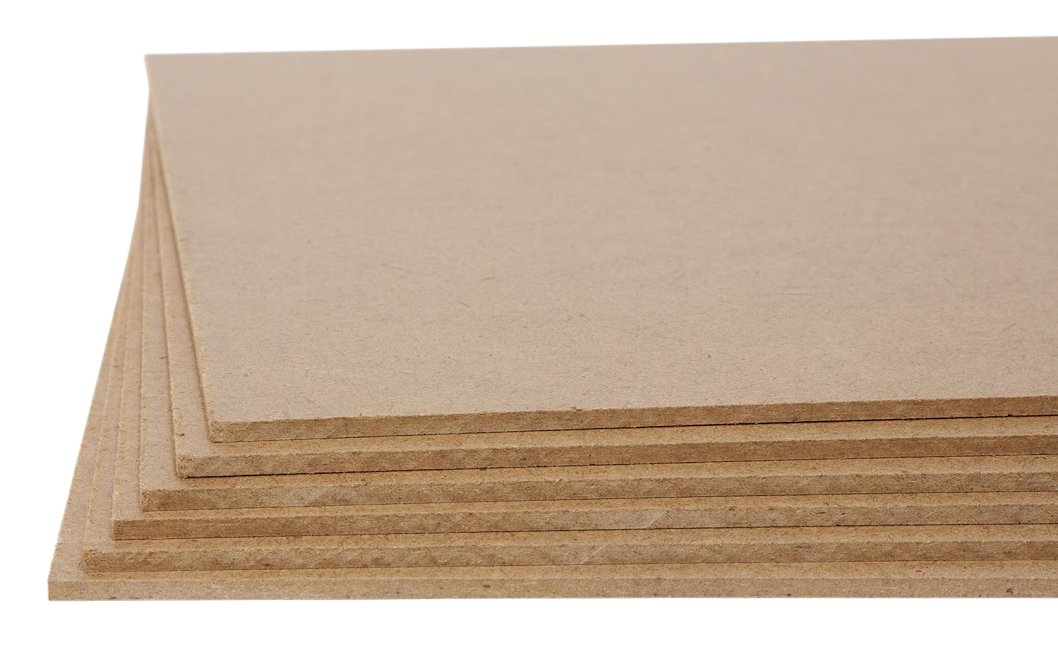 Jack Richeson Medium Density Untempered Hardboard(6 pack) ,  5x7