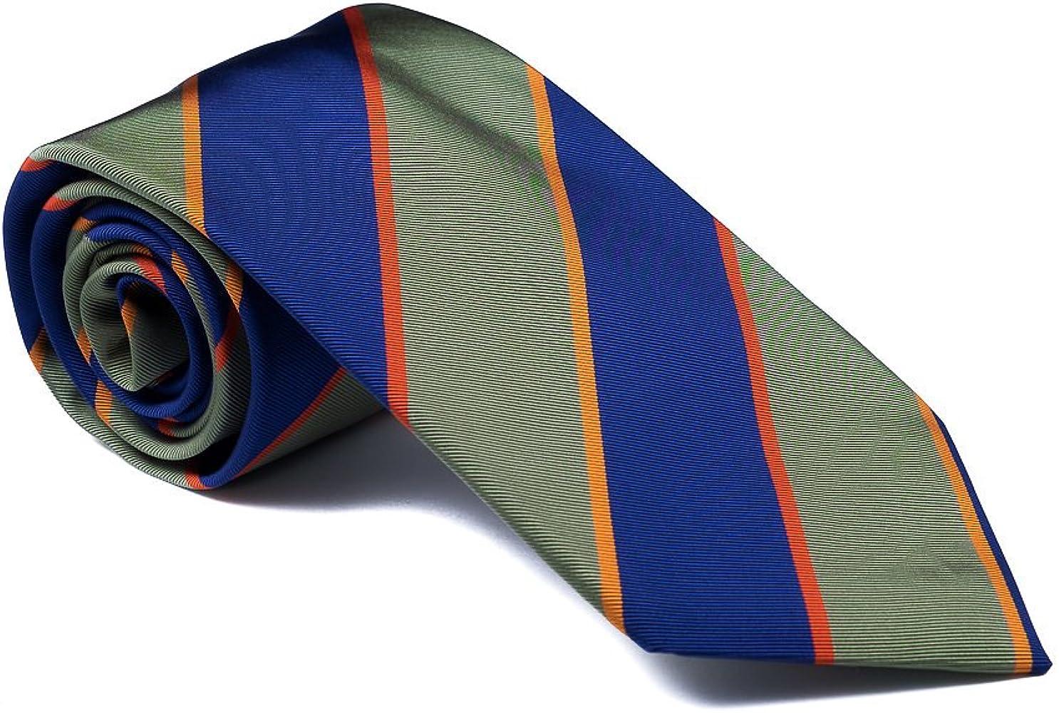 Luxury Neckties for Men: Beach Brigade Marine & Sage Mogador Silk Men's  Necktie at Amazon Men's Clothing store