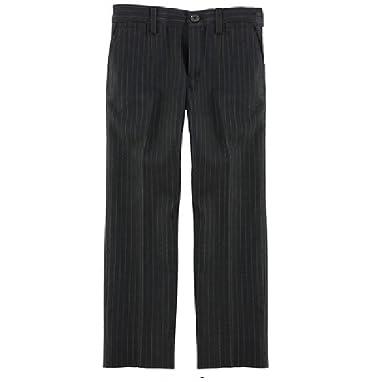 Pantalón de Traje - Rayas - para niño Negro Gestreift ...