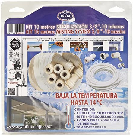 S&M 580758 Kit de nebulización 3/8
