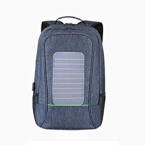TYNBO Mochila Solar Bolsa de Cargador USB 16 Pulgadas ...