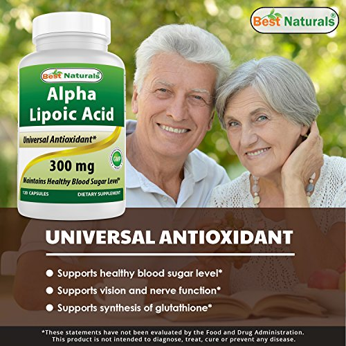 Best Naturals Alpha Lipoic Acid 300 mg 120 Capsules by Best Naturals (Image #2)