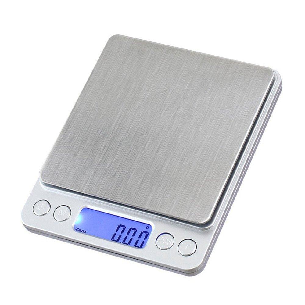 CGOLDENWALL - Báscula de cocina de acero inoxidable portátil, peso ...