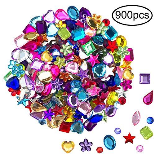 JPSOR 900pcs Gems Acrylic