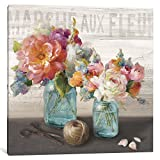 iCanvasART French Cottage Bouquet III Gallery Wrapped Canvas Art Print by Danhui Nai, 18'' x 0.75'' x 18''