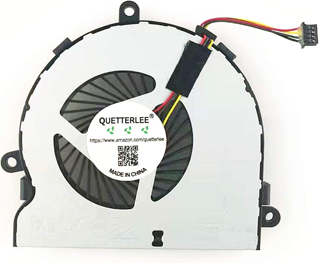 New CPU Cooling Fan for HP 4-PIN 15-AC 15-AY 15-AF 15-BA 15-BS 15-BE 15-BF 15-BD 15-BW 15-ACXXX 15-AFXXX 15-BSXXX 15-AYXXX 250 G4 255 G4 14-R020 TPN-C116 TPN -C125 Series 813946-001 DC28000GAD0 Fan