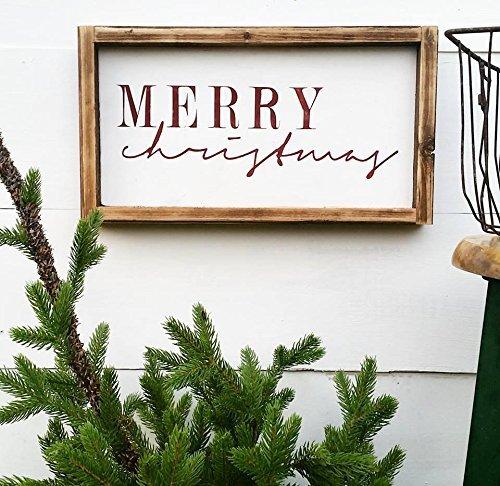 Amazon Merry Christmas Sign