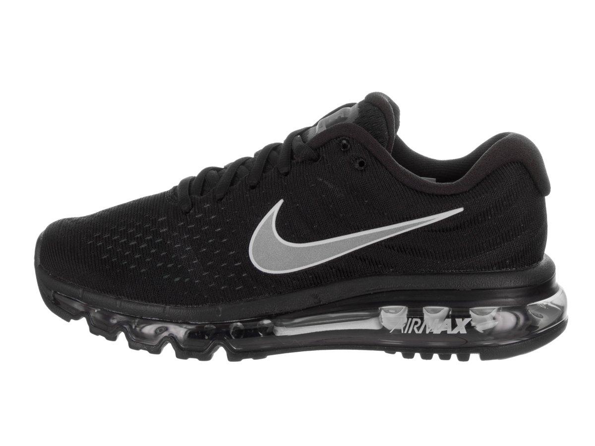new styles 0b697 ed4a7 ... Shoes 6 M  Sapatilha para Running NIKE Air Max 2017 para Mulher Preto  branco antracite 056ae5f - www.