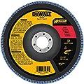 DEWALT DW8300 4-Inch by 5/8-Inch 36 Grit Zirconia Angle Grinder Flap Disc