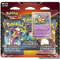 Triple Pack Pokémon Dedenne Destinos Brilhantes