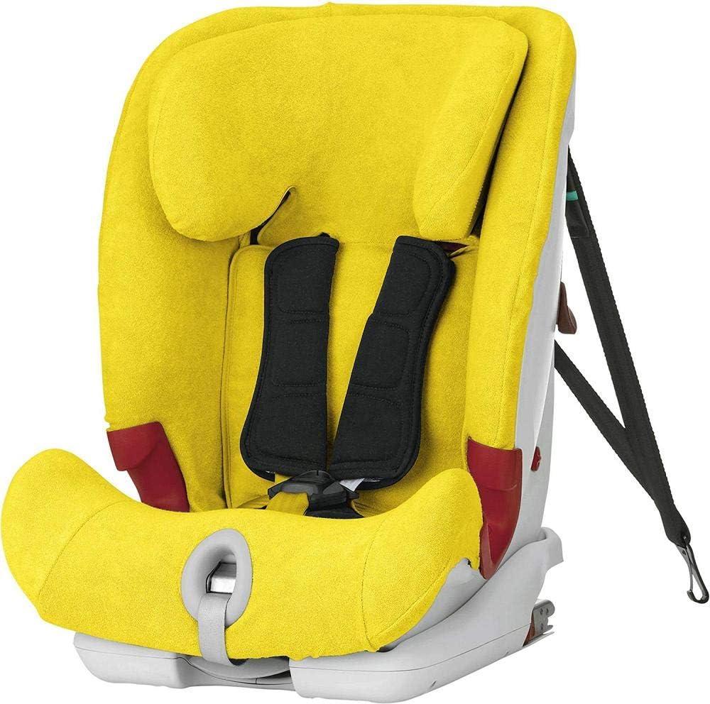 color amarillo Advansafix II SICT Advansafix III SICT-Funda de Verano Britax R/ömer Advansafix