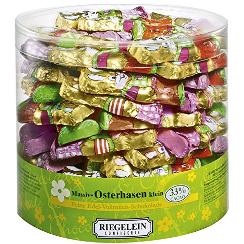 Riegelein solid Easter bunnies small 70 Pieces (525g) - Milk Chocolate