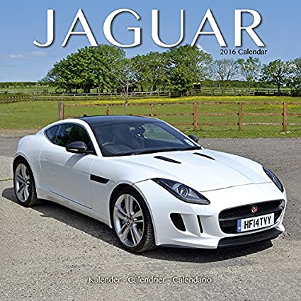 Calendario de 2016, diseño de JAGUAR coche COLLECTION-Coche ...