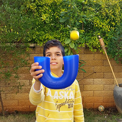 pindaloo Skill Toy. The Latest Craze to Hit The U.S.A. for Kids, Teens and Adults. Lots of Fun, Develops Motor Skills, Hand/Eye Coordination and Confidence. for Indoor and Outdoor Play (Red)
