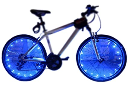 1c39ffd00 MAGINOVO 2 Pack Led Bike Wheel Light   Waterproof Bicycle Tire Light    Safety Battery Spoke