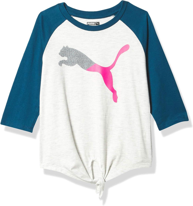 PUMA Girls' Raglan T-Shirt