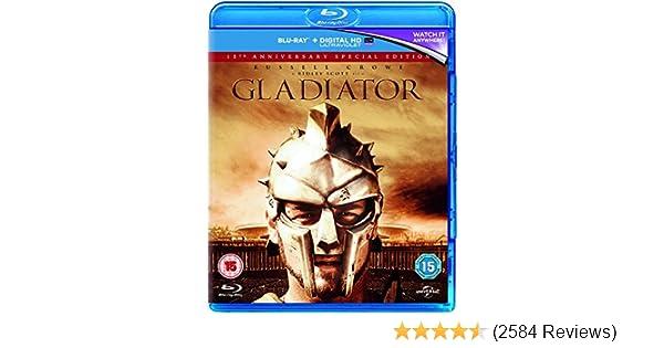 Amazon.com: Gladiator - 15th Anniversary Edition [Blu-ray ...