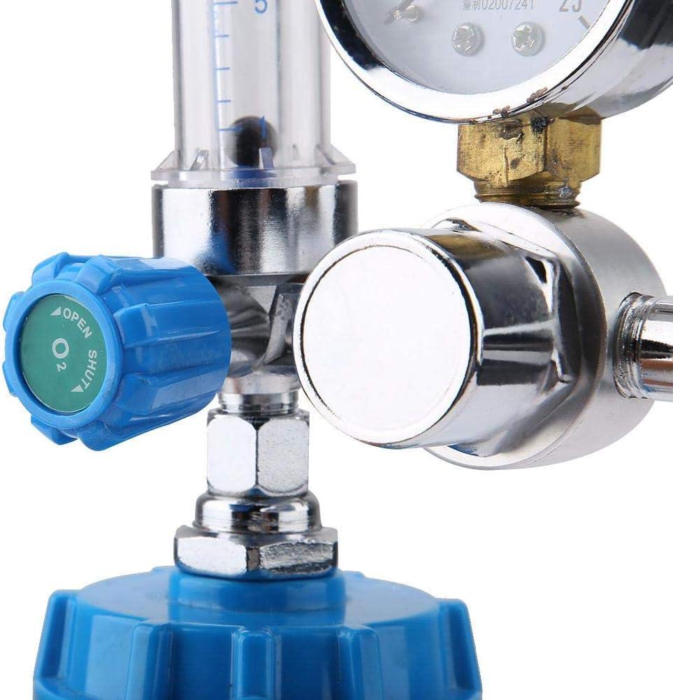 presi/ón de salida 0.2Mpa YH.YX11A Tipo de boya Inhalador de ox/ígeno Regulador de v/álvula reductora de presi/ón G5 // 8 BSPP 0~10L // min Reductor de presi/ón