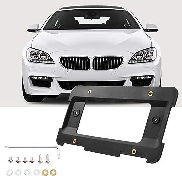 REAR LICENSE PLATE MOUNT FRAME HOLDER BUMPER BRACKET FOR BMW 6 SCREWS /& WRENCH
