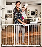 #8: Regalo Extra WideSpan Walk Through Safety Gate, White