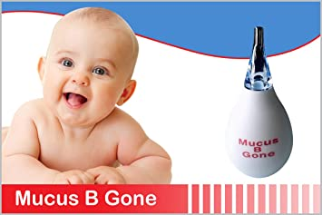 Nasal Aspirator For Baby (Mucus B-Gone) Hospital Grade Hypoallergenic  Perfect For Nose Cleaning &