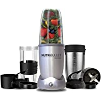 NUTRiBULLET 1200 Series - Smart Technology High Speed Blender - 1200W 12 Piece Set – Silver