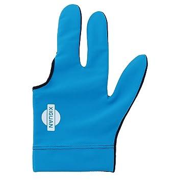 uxcell poliéster elástico antideslizante mano izquierda tres dedo ...