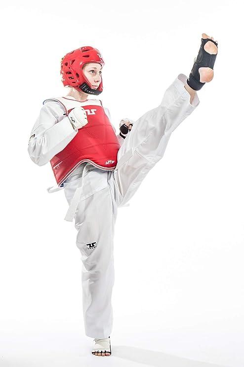 Tusah Taekwondo Traje EZ de Fit Fighter, 140: Amazon.es: Deportes ...