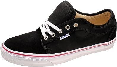 Vans Chukka Low BlackPewterWhite Shoe NKABH4, Schwarz