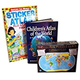 Learn About World Geography Children's Gift Bundle Ages 9+ [3 Piece]