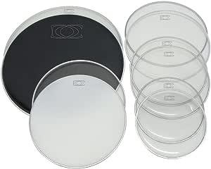 Set de parches tambores, el pack incluye 2 piezas (uno parche ...