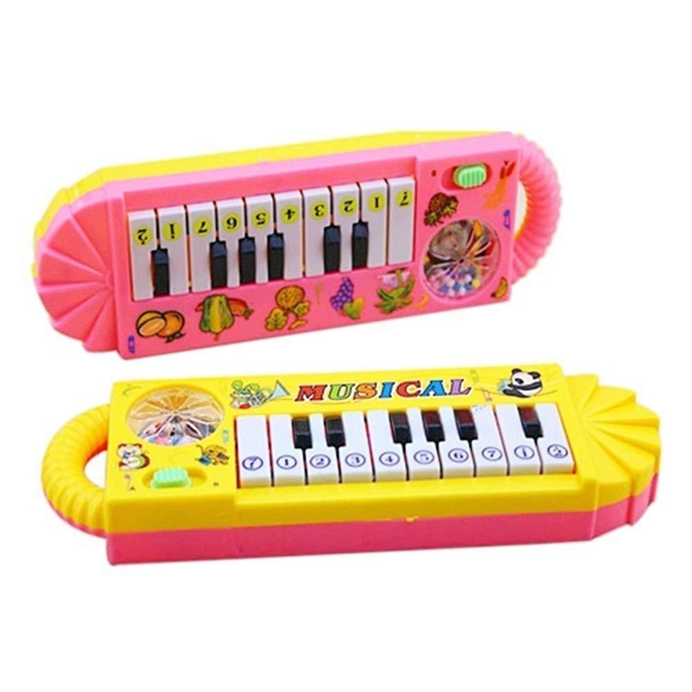 Mallalah Piano Musical electr/ónico Juguetes educativos para Principiantes Regalo para ni/ños de beb/é Juguete Musical para Aprender m/úsica