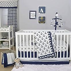 61gFvnEeaeL._SS247_ Anchor Crib Bedding Sets and Anchor Nursery Bedding