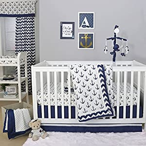 61gFvnEeaeL._SS300_ Nautical Crib Bedding & Beach Crib Bedding Sets