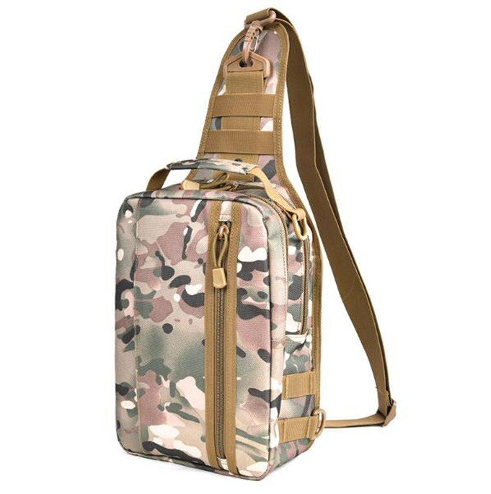 Outdoor-Umhängetasche Reisen Reiten Brusttasche multifunktionale Casual Männer und Frauen Messenger Tasche, CP