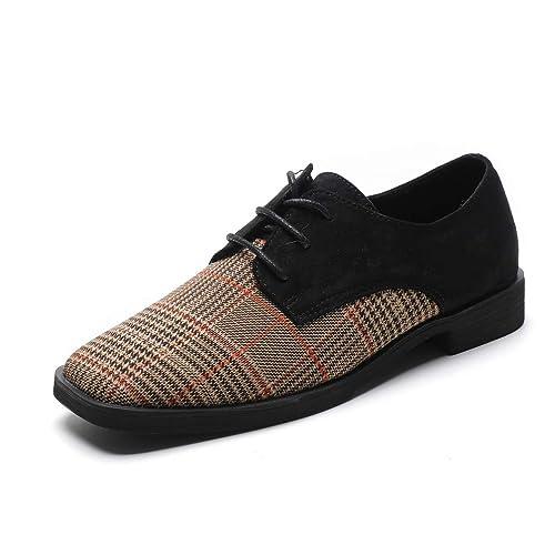 super popular 39d02 ad1ab Zapatos de Mujer con Gamuza Zapatos de tacón bajo Zapatos urbanos para  Caminar.  Amazon.es  Zapatos y complementos
