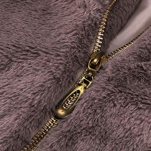 Parka Purple Inverno Gradient Morwind Cappuccio Donna Piumino Giubbotto Invernale Cappotto Capispalla Corto Con Giacca Solid Cerniera BqZwXqg