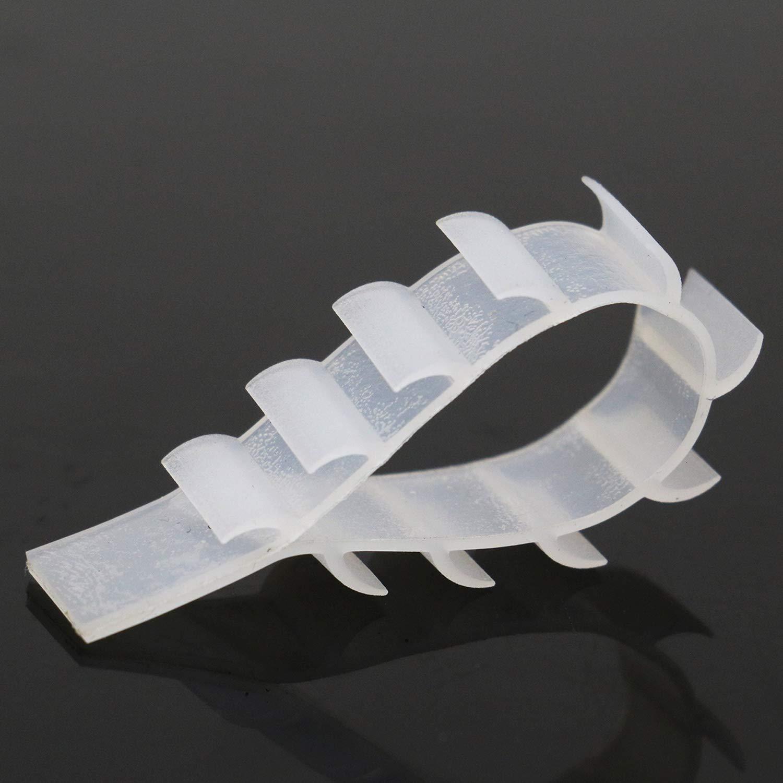 Amazon.com: TOPMO 100 piezas de goma transparente ...
