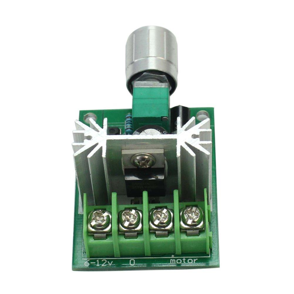 Nuevo PWM DC 6V-12V El/éctrico Motor Controlador Regulador Velocidad Interruptor