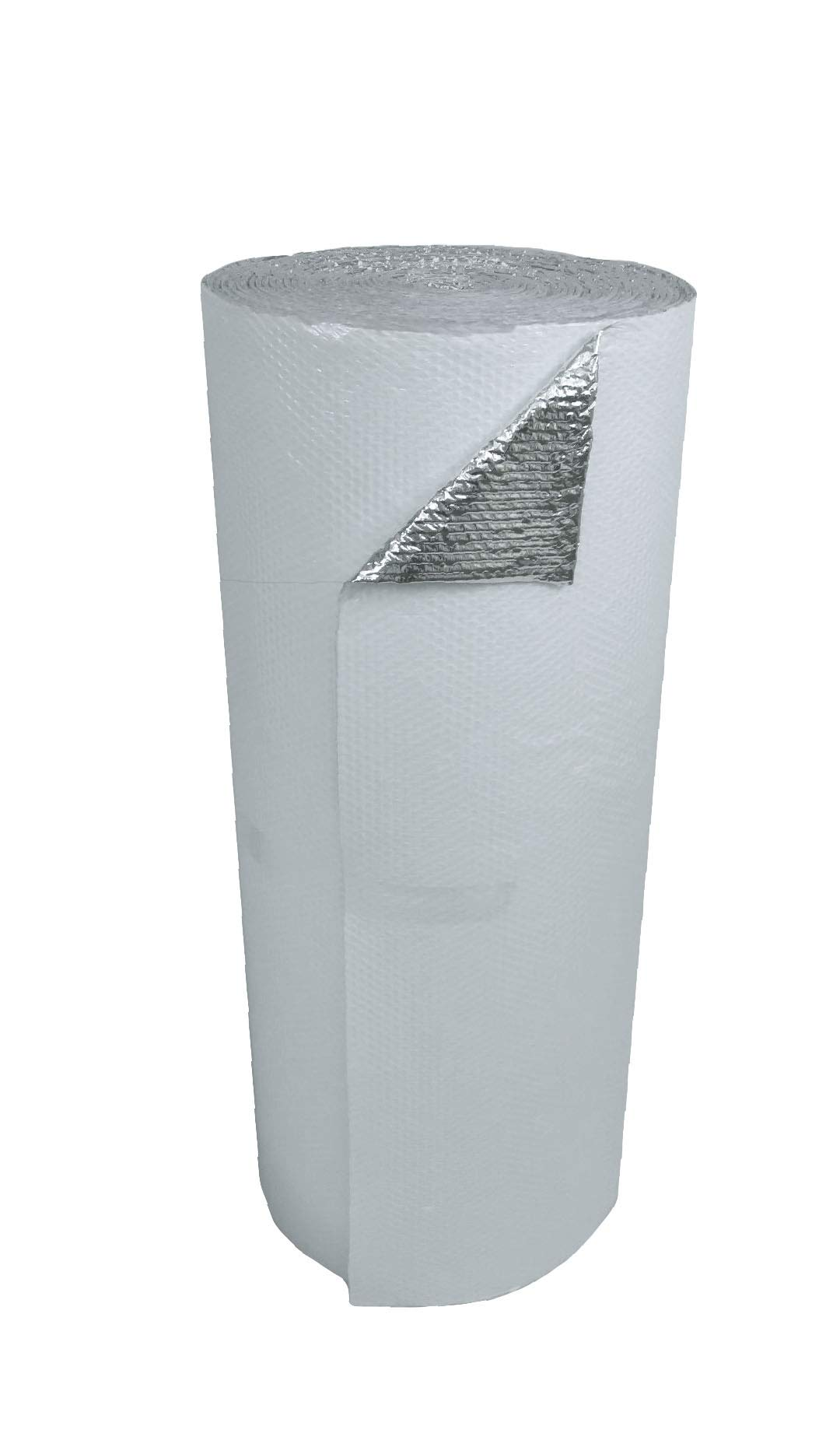 US Energy Products 48'' x 100' White Double Bubble Reflective Foil Insulation Thermal Barrier R8  by US Energy Products