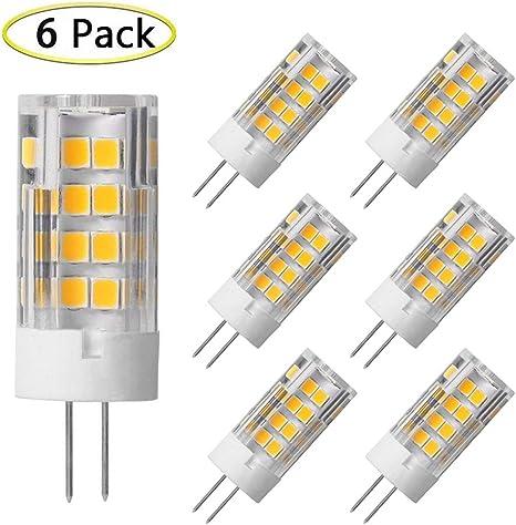 [DIAGRAM_38YU]  G4 LED Bulb 5W Equivalent to 40W G4 Halogen Bulb, T3 JC Type Bi-Pin G4  Base, AC/DC 12 Volt Warm White 3000K, Not-Dimmable (6 Pack) - - Amazon.com   T3 Light Fixture Wiring Diagram      Amazon.com