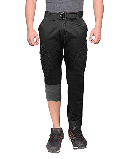 cb5dcb32 Krystle Black Men's Casual Outdoor Fleece Lined Warm Cargo Pants:  Amazon.in: Clothing & Accessories