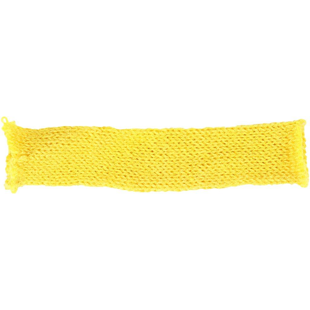 B 30 mm Strickschlauch Gelb 10m
