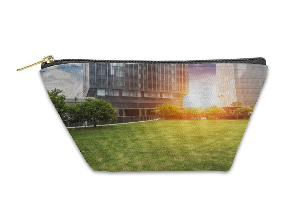 Gear New Accessory Zipper Pouch, Business Building, Large, 5899381GN