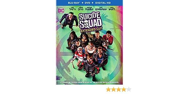 Amazon.com: Suicide Squad: Ext Cut [Blu-ray]: David Ayer ...