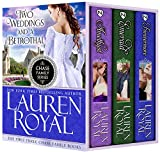 Two Weddings and a Betrothal: The First Three Chase Family Books (Chase Family Series: Boxed Sets & Extras Book 5)