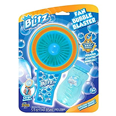 Blitz Fan Bubble Blaster: Toys & Games