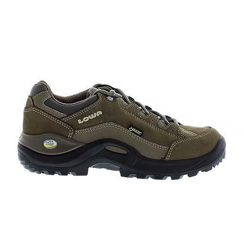 separation shoes 8d41e 7f2c5 Lowa Womens Renegade II Gore-Tex Lo Stone Brown Nubuck Shoes ...
