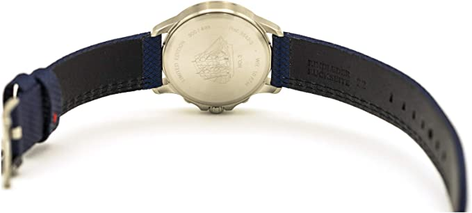 Iron Annie Gorch Fock No 3 Quartz Watch Leather Strap Blue 3542 3 Made In Germany Amazon Co Uk Watches
