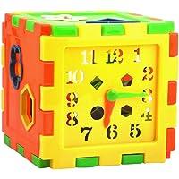 Imported Plastic Time Shape Teaching Training Educational Puzzle Toy